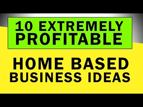 Home Business Ideas To Build Great Wealth