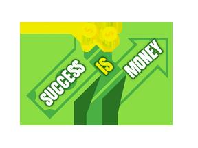 success is money
